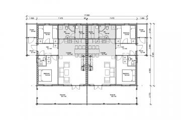 Järven 140 - Construction plan