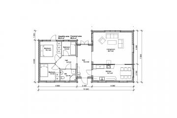 Tallbacken 100 - Construction plan