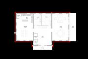 Bergsholmen XL – Planlösning 2D, Våning 1