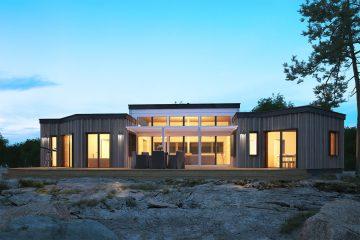 Fritidshus från Jörnträhus - Husmodell Skärudden XL - husbyggsats - fritidshus - villa