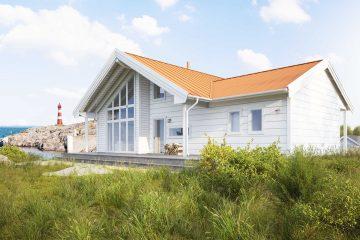 Nyholm M - Jörnträhus - byggsats hus / fritidshus / villa / sommarstuga