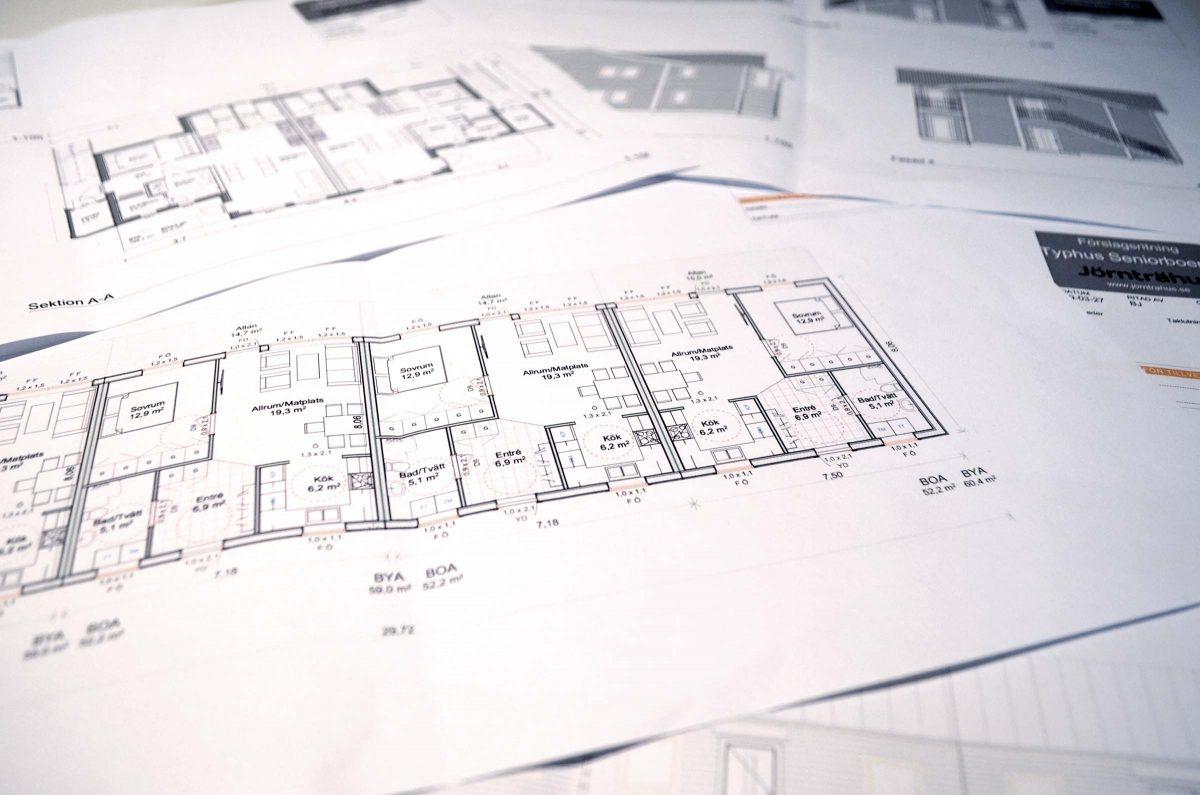 Jörnträhus Pro - Väljer du våra befintliga och effektiva konceptmodeller så garanterar vi en snabb och smidig byggprocess