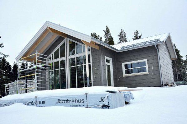 Fritidshus Björkdal L Jörnträhus Kundreportage deras anpassningar skapade en ny husmodell 0