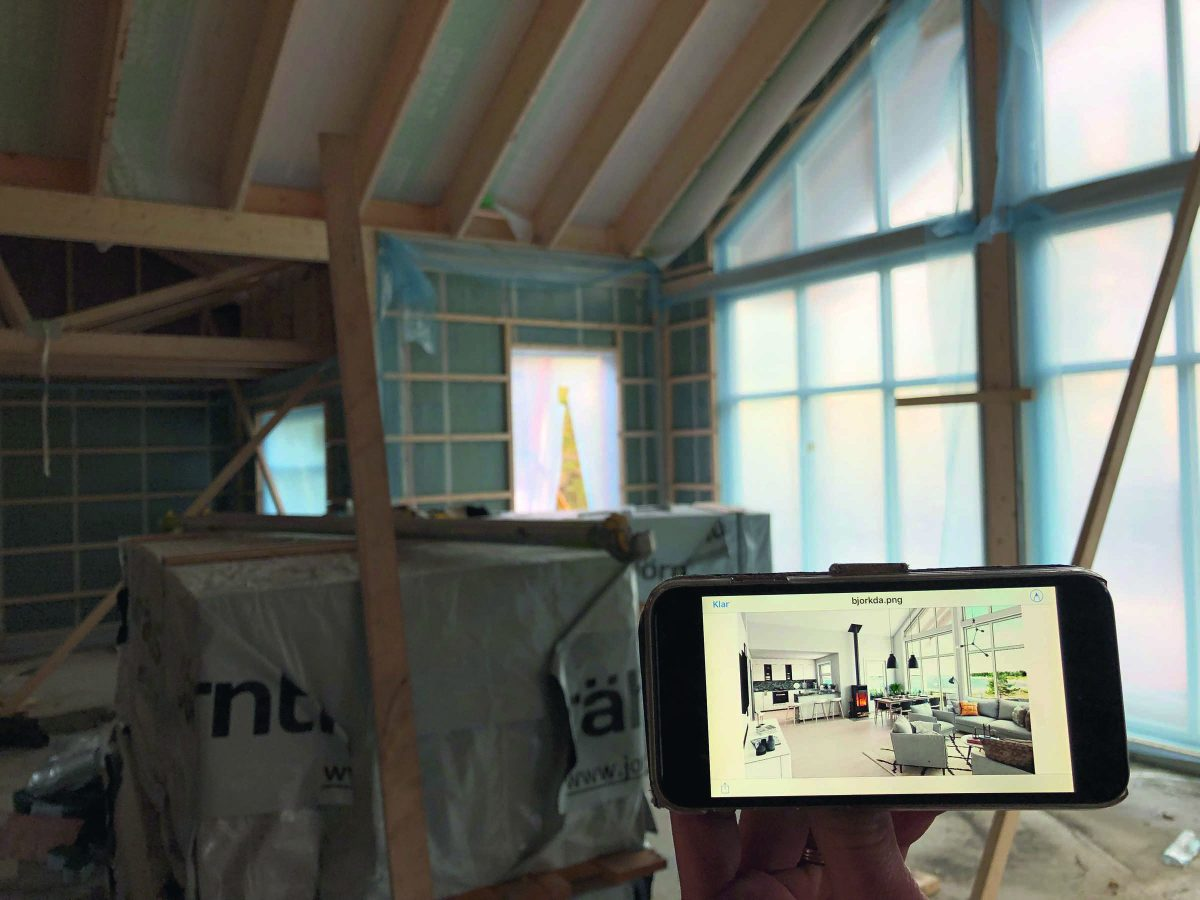 Fritidshus Björkdal L Jörnträhus Kundreportage deras anpassningar skapade en ny husmodell 4