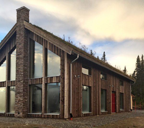 Kagedalen S Ladhus Kundexempel Funasdalen Fritidshus Villa Jorntrahus interior byggsats 1