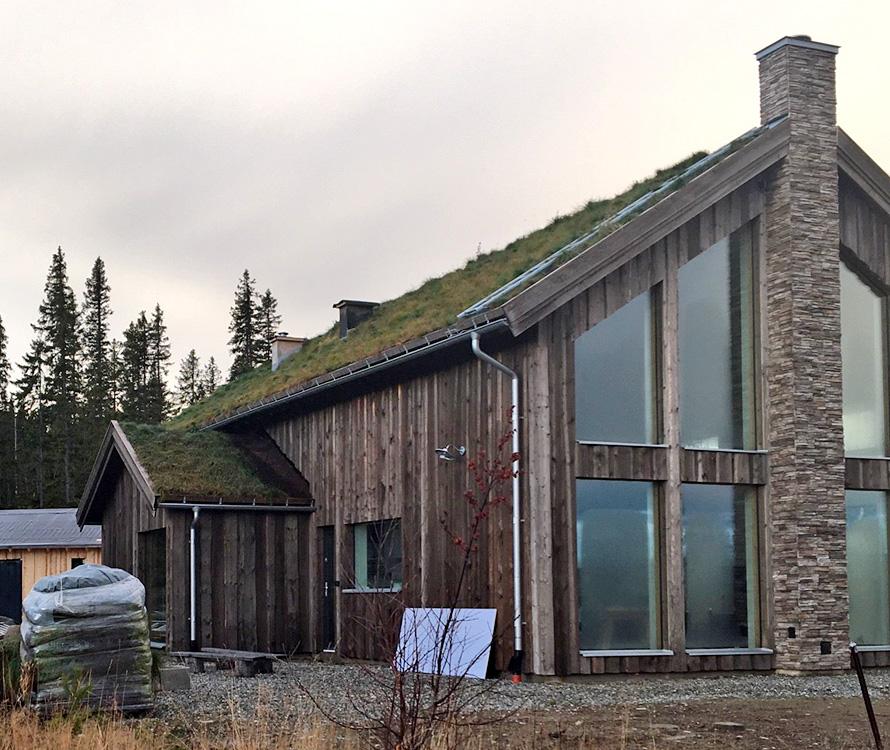 Kagedalen S Ladhus Kundexempel Funasdalen Fritidshus Villa Jorntrahus interior byggsats 3