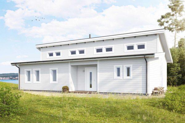 Eriksdal 106 Fritidshus Byggsats Hus fran Jorntrahus