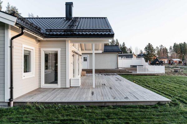 Niclas Burstrom Skelleftea AIK Jorntrahus Kundreportage Strycksele Villa Boende Hus Byggprojekt Husbyggsats 2020 B2200 2