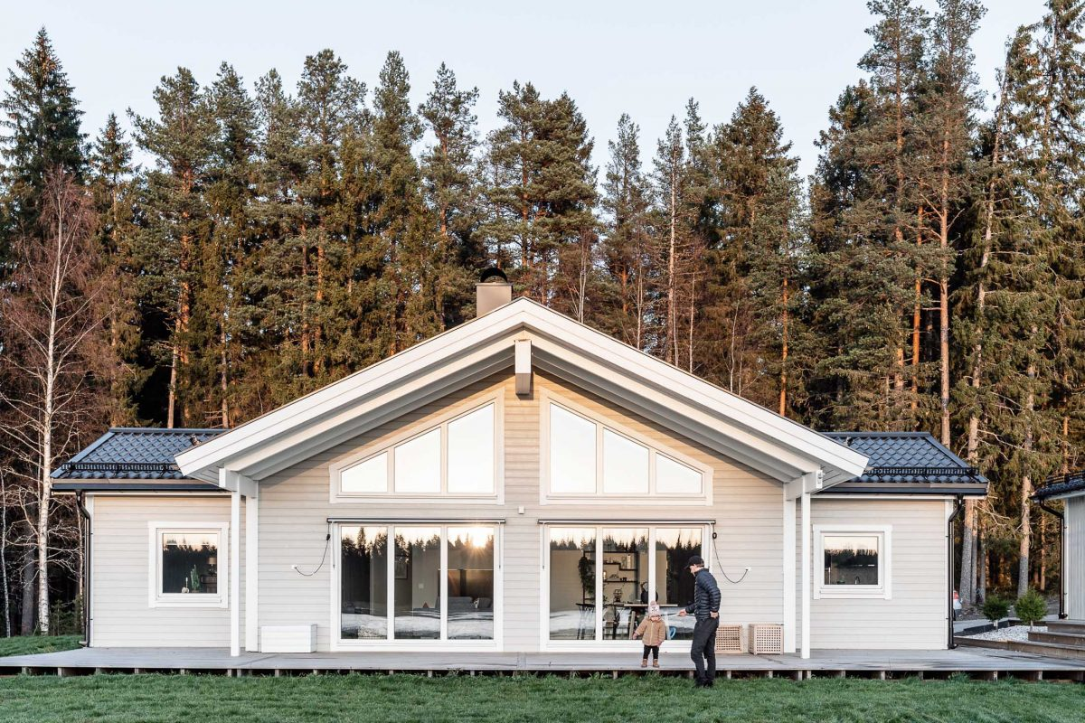 Niclas Burstrom Skelleftea AIK Jorntrahus Kundreportage Strycksele Villa Boende Hus Byggprojekt Husbyggsats 2020 B2200 3