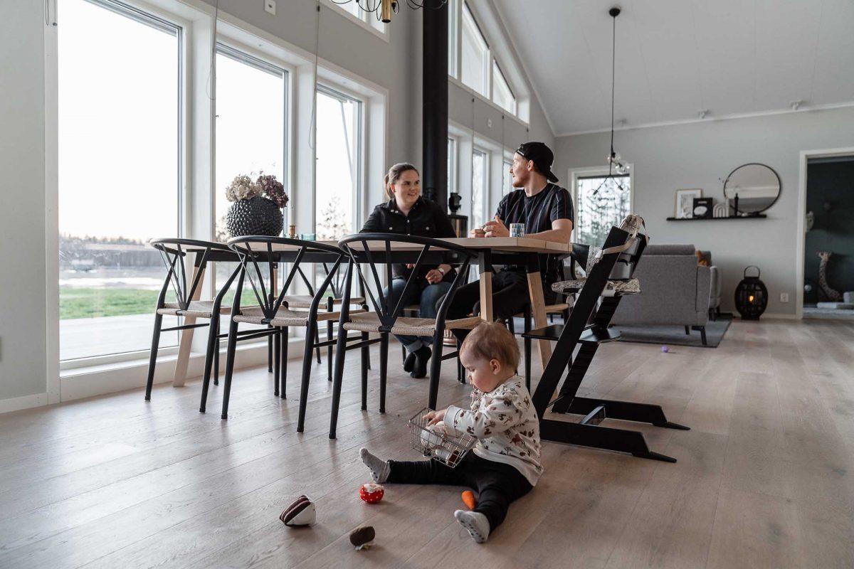Niclas Burstrom Skelleftea AIK Jorntrahus Kundreportage Strycksele Villa Boende Hus Byggprojekt Husbyggsats 2020 B2200 7