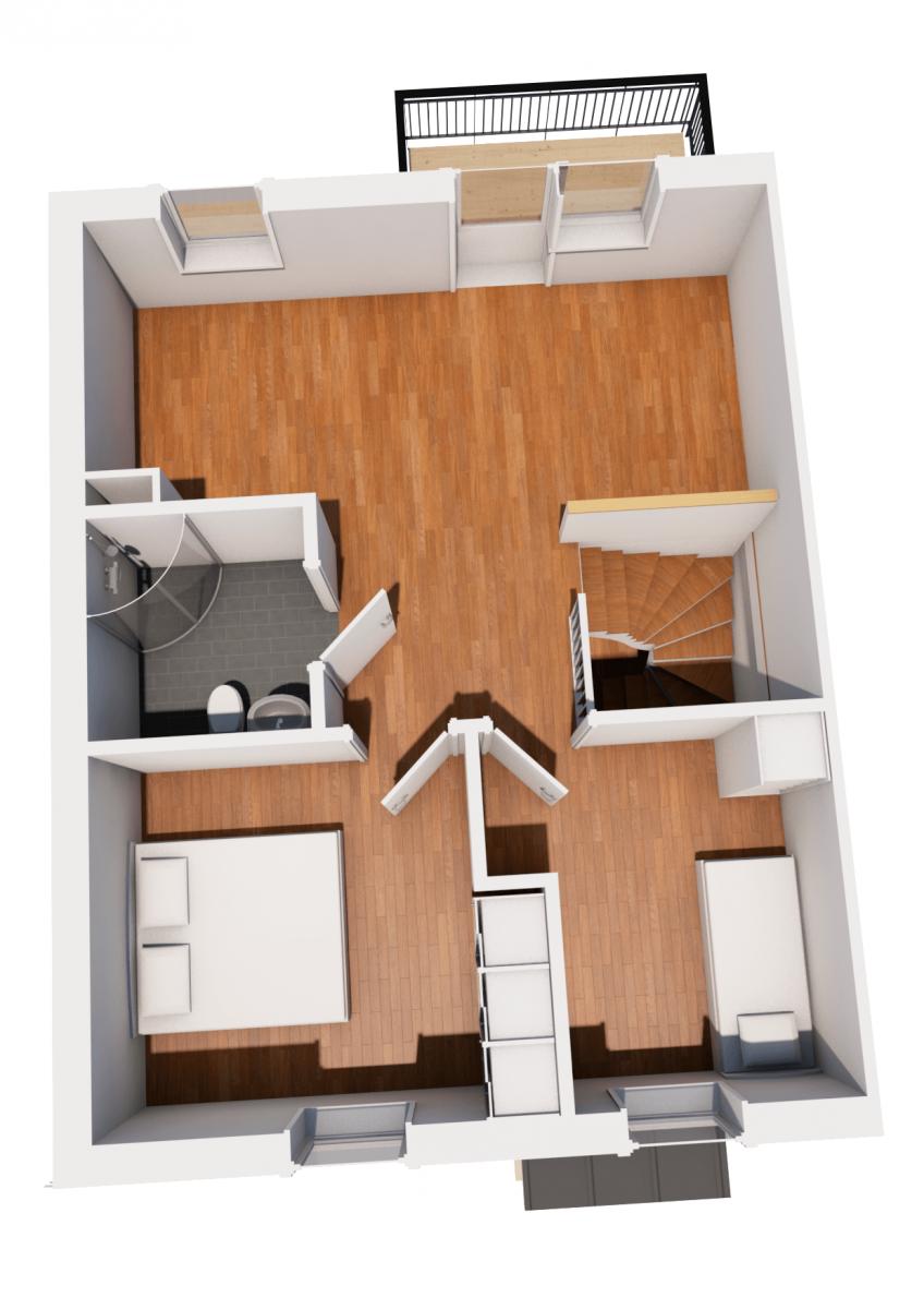 Koncepthus Radhus Hustillverkare Jorntrahus Pro Plan 2